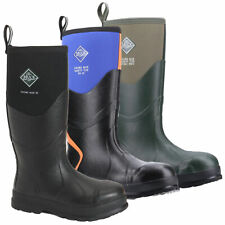 Mens MUCK Boots Chore Max S5 Stable Farm Tall Wellington Wellies Sizes 4 to 13