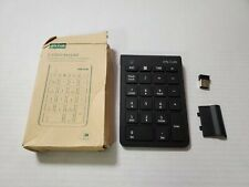 Wireless Number Pad, Jelly Comb Numeric Keypad 2.4G Number Pad Financial ... New