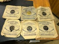 """6x Edison Bell Radio Label 78 Shellac 1930's Records Various Artists 8"""""""