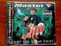 Promo Master P MP Da Last Don '98 Japan 2CD w/Obi & Lylics no limit snoop dog