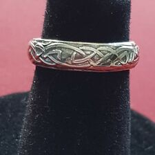 Sterling Silver Toe Ring Solid 925 Celtic Toering Plain 3mm wide adjustable