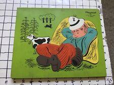 Vintage frame tray puzzle -- PLAYSKOOL -- LITTLE BOY BLUE