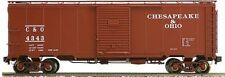 Accucraft AM32-556X AAR Box Car - C&O Chesapeake & Ohio, 1 car Mint In Box