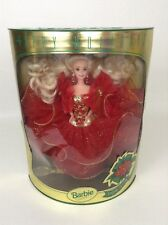 Barbie Christmas Doll 1993 Happy Holiday Blond Special Edition MATTEL #10824