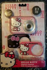 Hello Kitty 82009 Digital Camera with 3 Plates Pink NEW