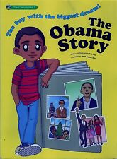 OBAMA STORY graphic novel barack united states president biography indonesia