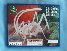 Wood Model Kit Cricket Insect IQ Assembling Products Ages 6+