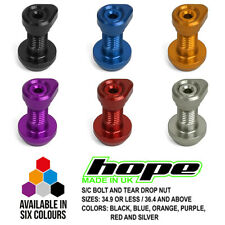 Hope Bolt On Seat Clamp Bolt And Tear Drop Nut 36.4 & Above / 36.4 and Above New