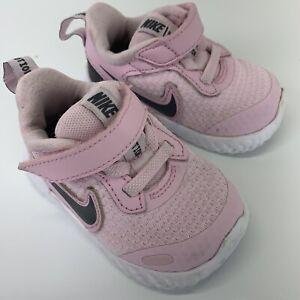 Nike REVOLUTION LIGHT PINK  BABY toddler GIRLS SHOES SZ 3C NICE!
