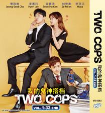 KOREAN DRAMA DVD Two Cops Vol.1-32 End English Subs + FREE SHIPPING