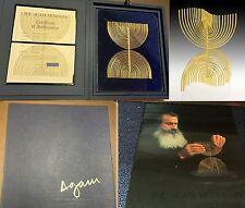 Yaacov Agam Original The Agam Menorah Signed Limited Edition 287/900 COA