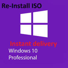 Windows 10 Professional 64 Bit Re-Install Repair Recovery ISO