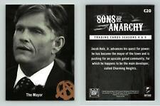 The Mayor #C20 Sons Of Anarchy Season 4 & 5 Cryptozoic 2015 Character Bios Card