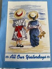 All Our Yesterdays At The Seaside Cross Stitch Chart