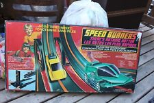 Mego Speed Burners Dragstrip Showdown Race Track 1970's for parts with box race