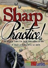 SHARP PRACTICE - TOO FAT LARDIES - RULES - RULEBOOK - SENT FIRST CLASS