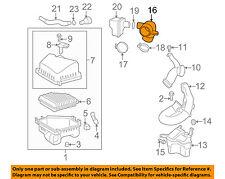 pontiac gm oem 09-10 vibe air cleaner-rear intake duct tube hose 88975805  (fits: pontiac vibe)