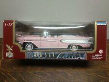 Road legends 1:18 .1958 edsel citation pink.convertable.