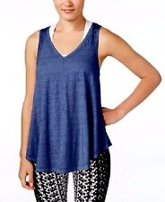 Calvin Klein Performance Icy Wash Tank Top Color Blue Size Medium