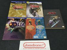 Nintendo Power LEGEND OF ZELDA Strategy Player Guide Lot Wind Waker Oracle Ages