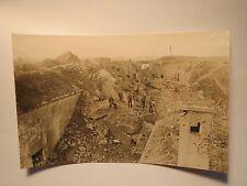 Lüttich - Fort Loncin - Ruine im I. Weltkrieg / Foto Robert Sennecke