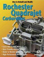 How to Rebuild and Modify Rochester Quadrajet Carburetors, Paperback by Ruggl...