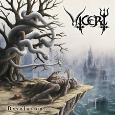 Vicery - Devolution CD Death Metal from Serbia ffo Vader Decapitated Deicide