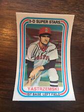 1976 Kellogg's 3D Baseball -#24 CARL YASTRZEMSKI (Boston Red Sox) HOF *Nice*