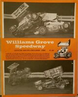 1984 Williams Grove Speedway Program Vol 4 Randy Wolfe Joe Gravino