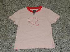 Jack Wolfskin GIRLS HEART T rose Gr.140 Neu