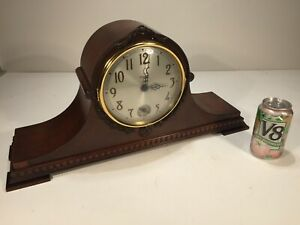 Vintage Antique Bulova Watch Co. Westminster Chime Electric Mantel Clock Project