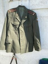 Vintage Ussr ? military uniforms Jacket Tankman Colonel Captain Officer