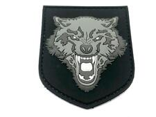 Howling Wolf Airsoft Paintball PVC Morale Patch