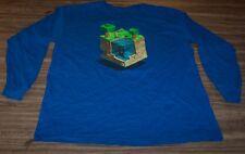 FUNNY MINECRAFT FISHING LONG SLEEVE T-Shirt Threadless YOUTH XL