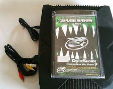 NEW AC Power Cord +  AV RCA TV Hookup Bundle Original Microsoft XBOX & Gameshark