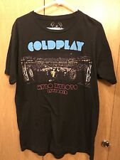 Cold Play Mylo Xyloto Live 2012 T Shirt Large