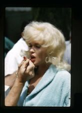 Jayne Mansfield candid close up in make up lipstick Original 35mm Transparency