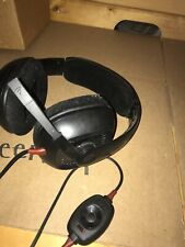 Plantronics GameCom GC388 Black Headband Headsets for PC With Extra Cord
