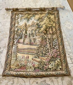 Large tapestry wall hanging (French?)