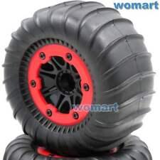 2Stk RC 2.2'' Paddles Tire Reifen Sand Snow Tyre & RC Crawler 2.2 Beadlock Wheel