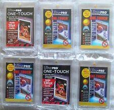 More details for ultra pro one touch magnetic trading card holders 35pt,55pt,75pt,100pt,130pt,180