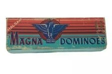Magna Dominoes Eagles 28 pc Halsam (P-1) Family Game Toys and Hobbies
