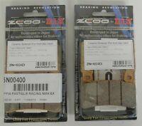 ZCOO 2 COPPIE PASTIGLIE FRENO ANTERIORE EX PER HONDA CBR RR 600 2003 2004