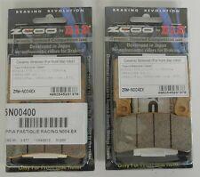 ZCOO 2 COPPIE PASTIGLIE FRENO ANTERIORE EX PER HONDA CBR RR 900 1998 1999