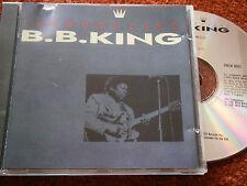 Introducing B. B. King (1987 UK 11-track CD, EX Disc, New Case)