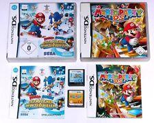 Spiele: MARIO PARTY + MARIO & SONIC WINTERSPIELEN Nintendo DS + Lite + DSi + 3DS