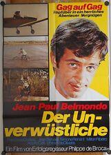 UNVERWÜSTLICHE (Kinoplakat/Filmplakat  '64) - JEAN-PAUL BELMONDO
