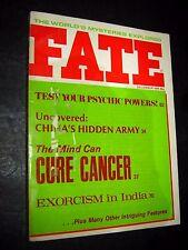 Destin Revue, Décembre 1975 ; Exorcism En Inde Psychic Powers de Chine Armée