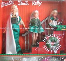 Barbie Holiday Singing Sisters Stacie Kelly Dolls Sing Deck The Halls 2000