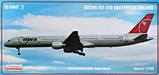 Eastern Express 1/144 Model Kit 14447_2 Boeing 757-300 Northwest airlines
